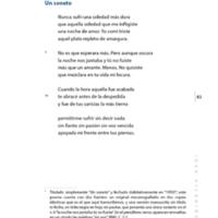 Un soneto